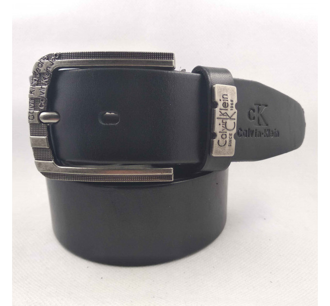 Мужской ремень джинсовый Exclusive ck40-065 черный