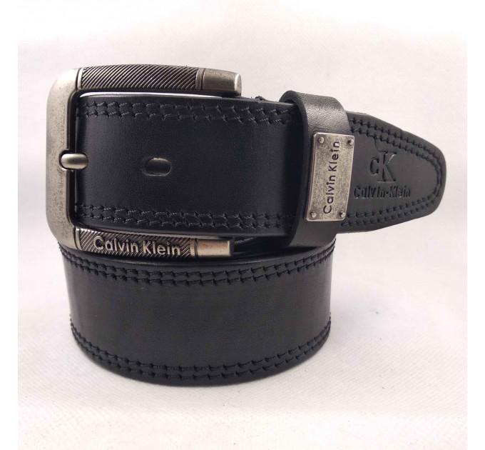 Мужской ремень джинсовый Exclusive ck40-067 черный