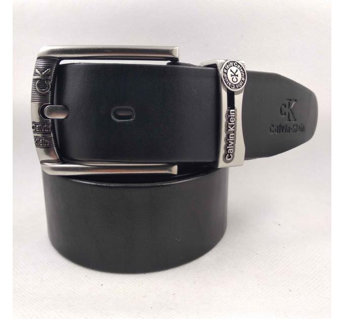 Мужской ремень джинсовый Exclusive ck40-068 черный