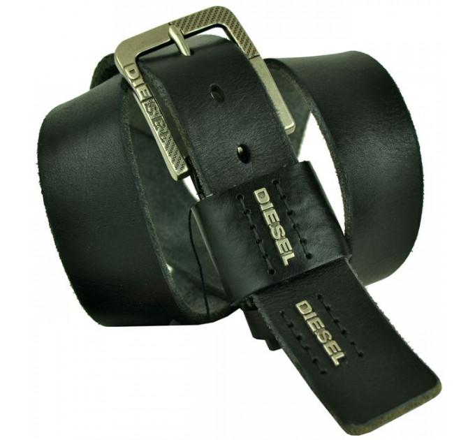 Мужской ремень джинсовый Exclusive DS40-084 черный