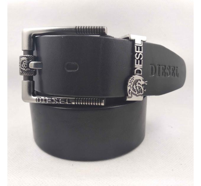 Мужской ремень джинсовый Exclusive DS40-100 черный
