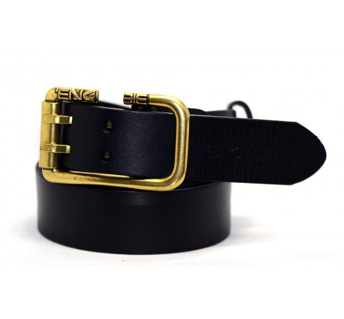 Мужской ремень джинсовый Exclusive Eg40-001 черный
