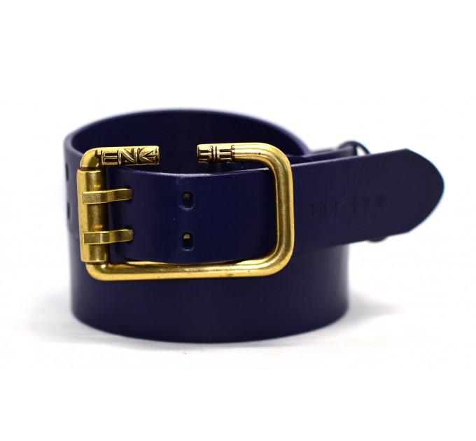 Мужской ремень джинсовый Exclusive Eg40-002 черный