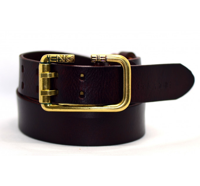 Мужской ремень джинсовый Exclusive Eg40-003 черный