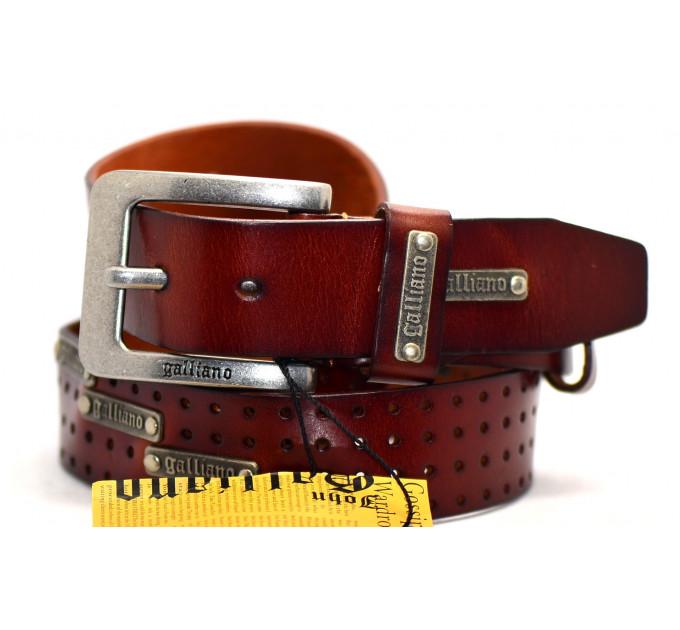 Мужской ремень Gl40-002 коричневый