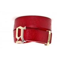 Ремень джинсовый Gl40-008 красный