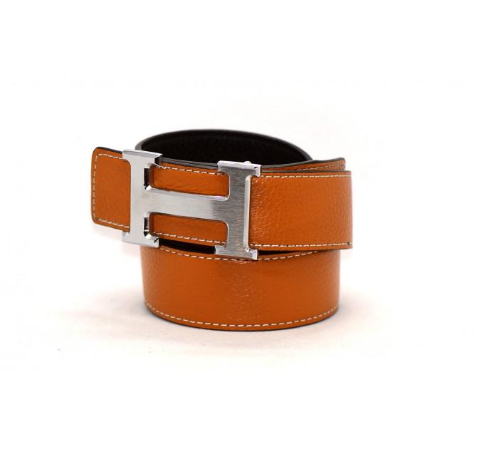 Ремень H35-002 коричневый