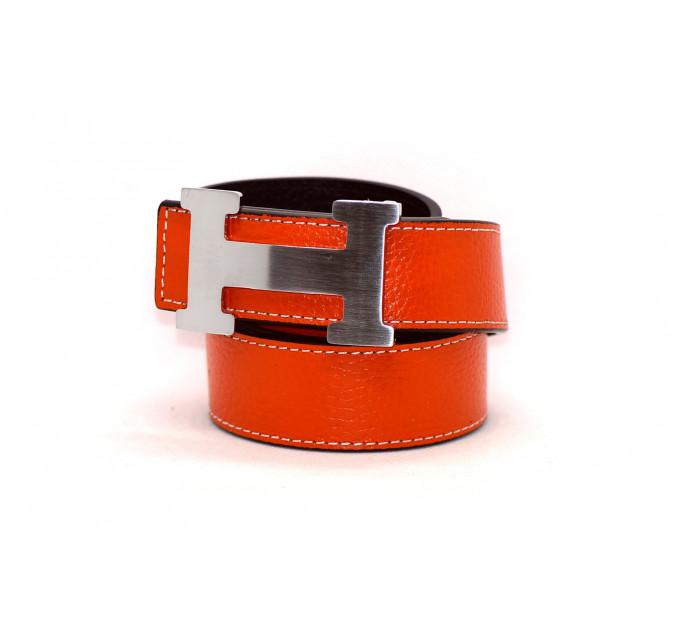 Ремень H35-007 оранжевый