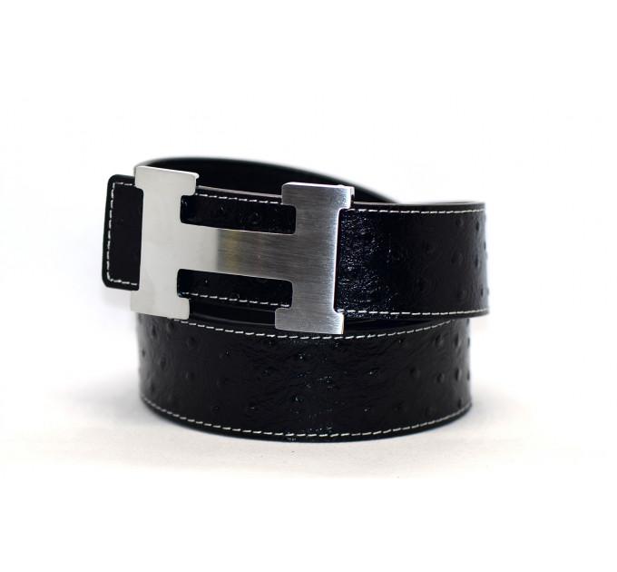 Ремень джинсовый H40-007 черный