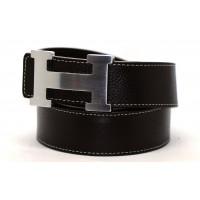 Ремень джинсовый H40-012 черный