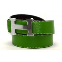 Ремень джинсовый H40-013 зеленый