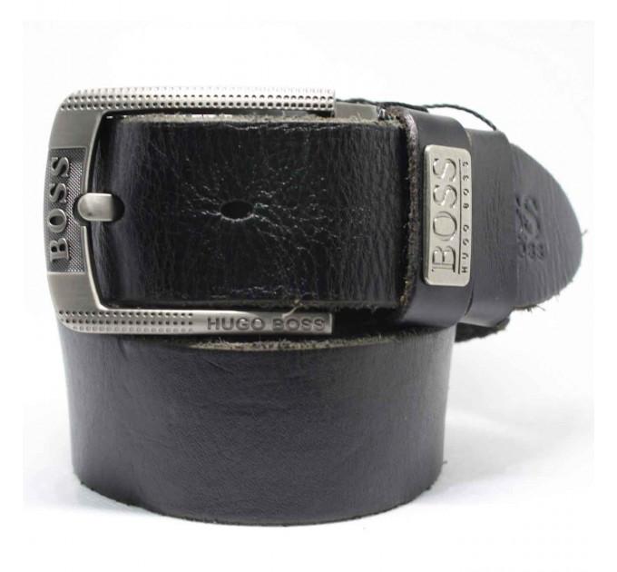 Мужской ремень джинсовый Exclusive hb40-030 черный