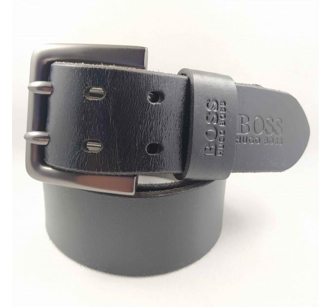 Мужской ремень для джинсов hb45-006 черный