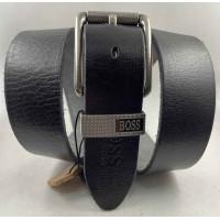 Мужской ремень джинсовый Exclusive hb40-051 черный