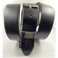 Мужской ремень джинсовый Exclusive hb40-053 черный