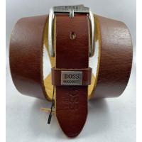 Мужской ремень джинсовый Exclusive hb40-055 рыжий