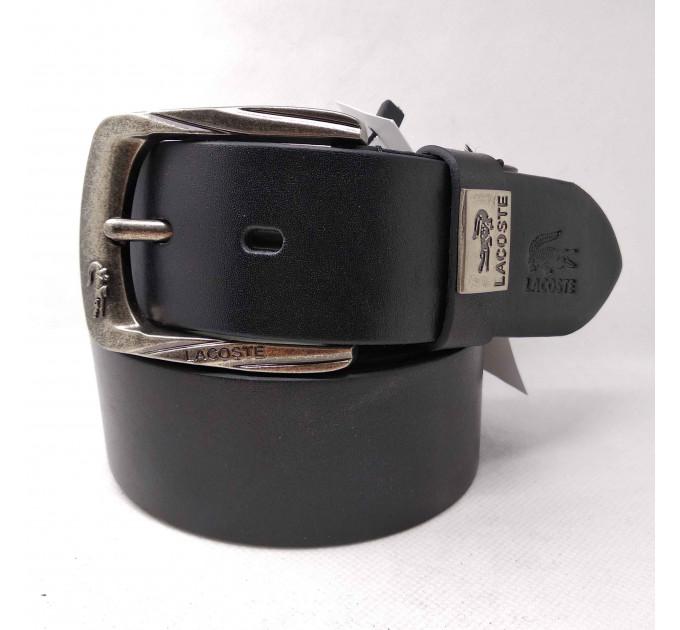 Мужской ремень джинсовый Exclusive Lc40-001 черный