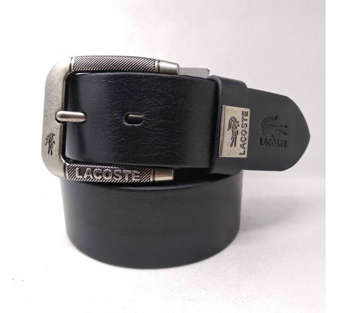 Мужской ремень джинсовый Exclusive Lc40-002 черный