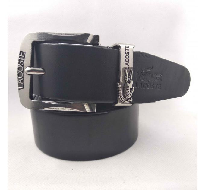 Мужской ремень джинсовый Exclusive Lc40-004 черный
