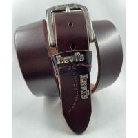 Мужской ремень джинсовый Exclusive Lv40-017 коричневый