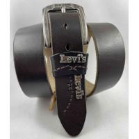 Мужской ремень джинсовый Exclusive Lv40-018 темно-коричневый