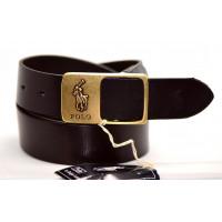 Мужской ремень джинсовый Exclusive P40-007 коричневый