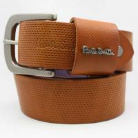 Мужской ремень джинсовый Exclusive ps40-021 коричневый