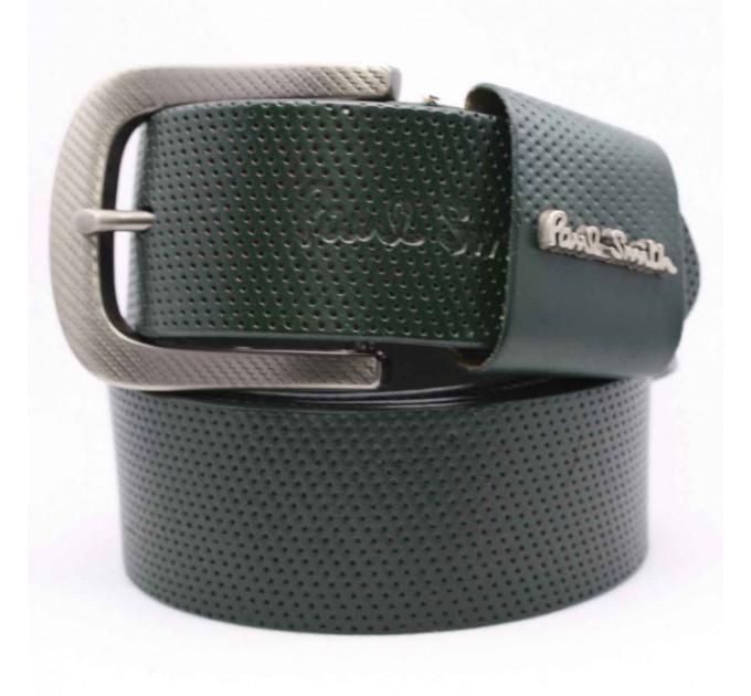 Мужской ремень джинсовый Exclusive ps40-023 зеленый