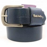 Мужской ремень джинсовый Exclusive ps40-024 синий