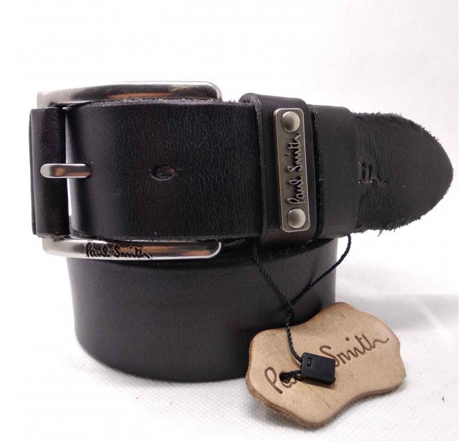 Мужской ремень джинсовый Exclusive ps40-026 черный