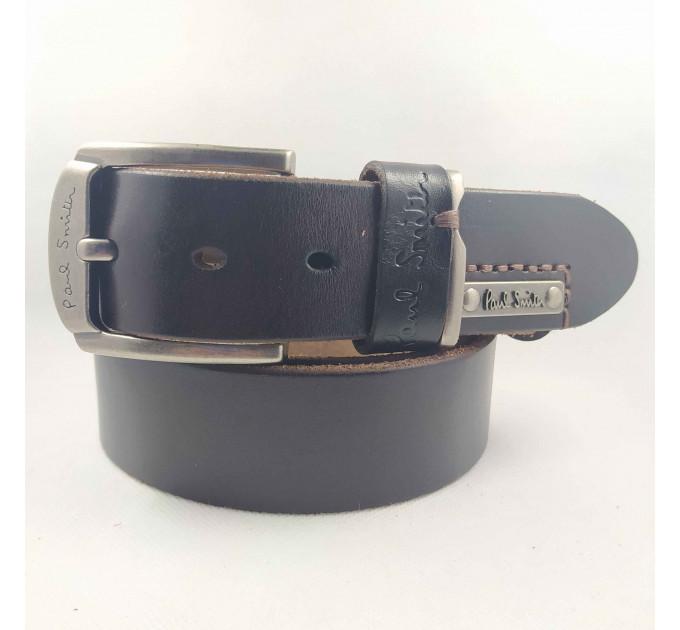 Мужской ремень джинсовый Exclusive ps40-029 черный