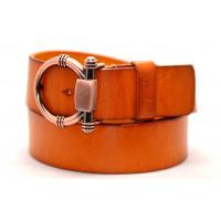Ремень джинсовый Fr40-001 оранжевый