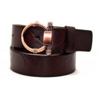 Ремень джинсовый Fr40-003 коричневый