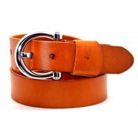 Ремень джинсовый Fr40-004 оранжевый