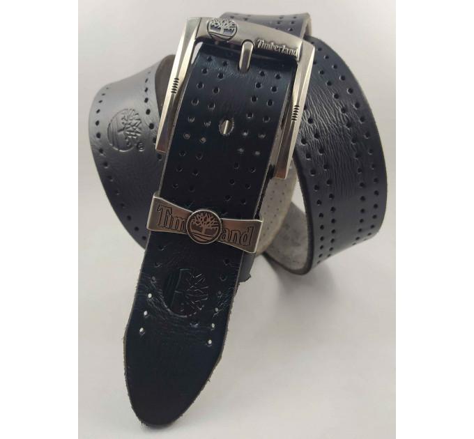Мужской ремень джинсовый Exclusive Td40-012 черный