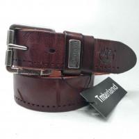 Мужской ремень джинсовый Exclusive Td40-007 коричневый