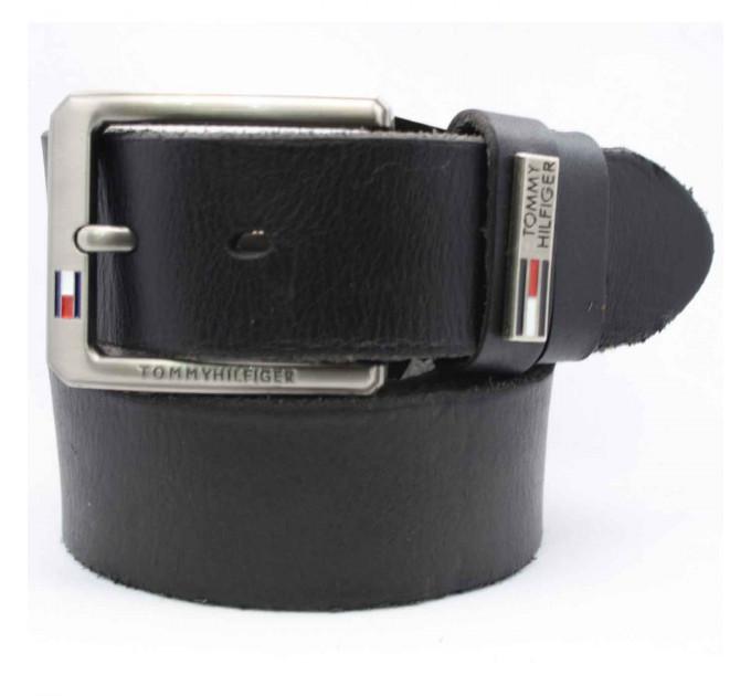Мужской ремень джинсовый Exclusive TH40-004 черный