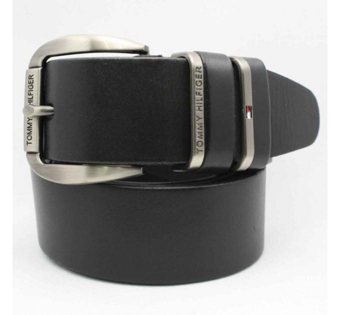 Мужской ремень джинсовый Exclusive TH40-010 черный