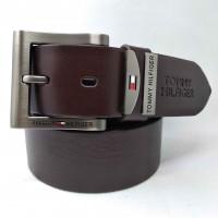 Мужской ремень джинсовый Exclusive TH40-017 коричневый