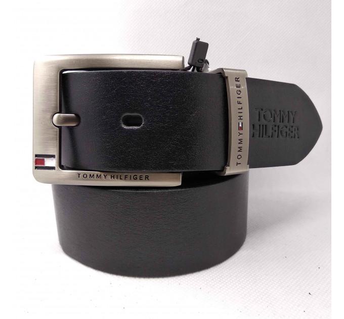 Мужской ремень джинсовый Exclusive TH40-022 черный