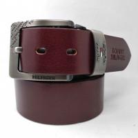 Мужской ремень джинсовый Exclusive TH40-023 коричневый