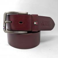 Мужской ремень джинсовый Exclusive TH40-026 коричневый