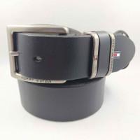 Мужской ремень джинсовый Exclusive TH40-036 черный