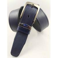 Мужской ремень классический OSCAR C35-079 синий