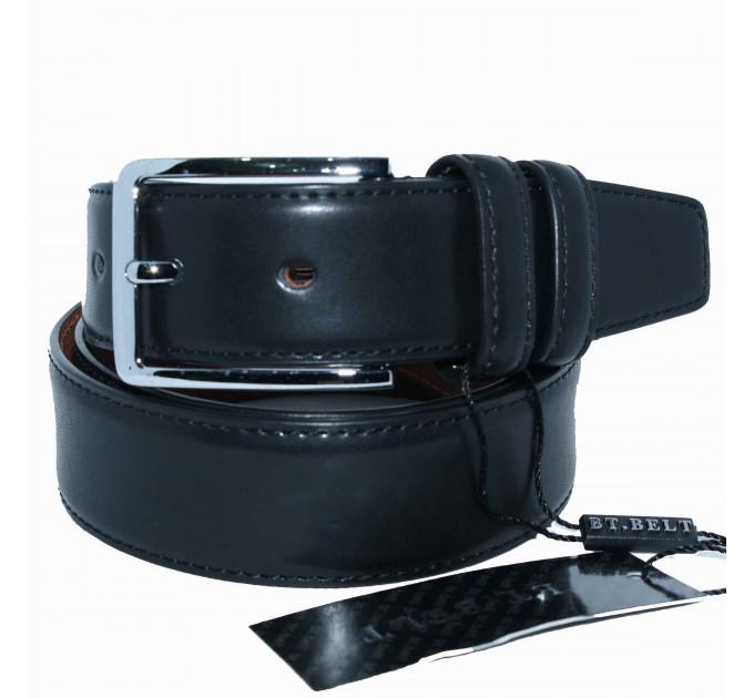 Мужской классический ремень C35-022 черный