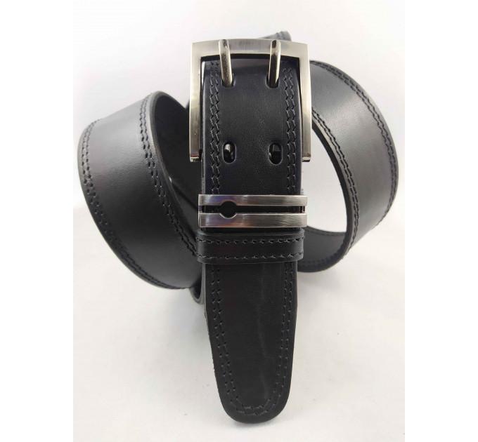 Мужской ремень джинсовый OSCAR С40-052 черный