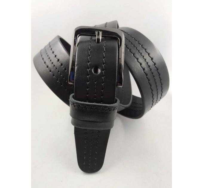 Мужской ремень джинсовый OSCAR С40-058 черный