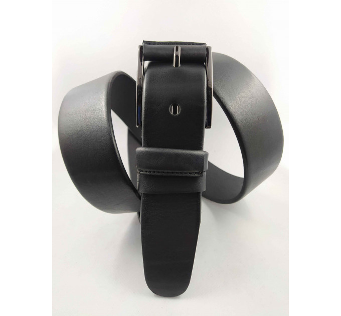 Мужской ремень джинсовый OSCAR С40-064 черный