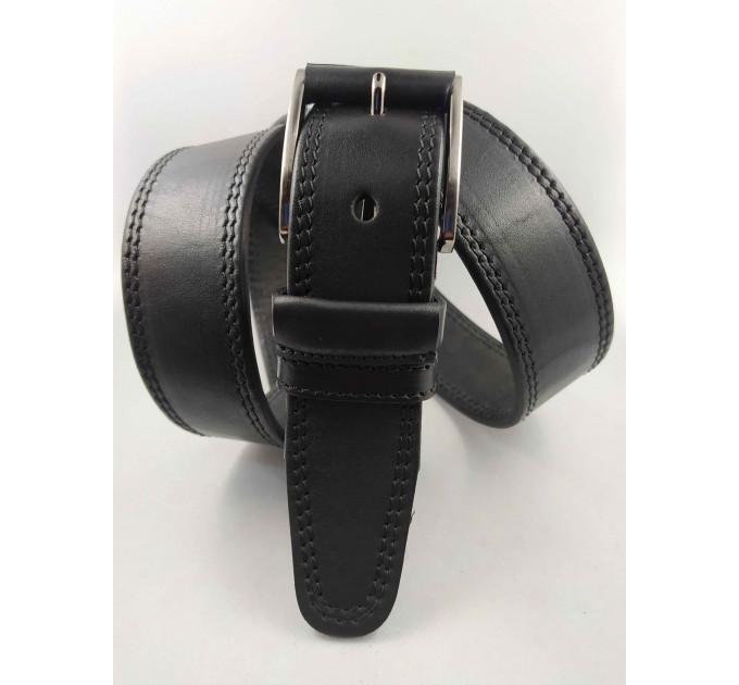 Мужской ремень джинсовый OSCAR С40-066 черный