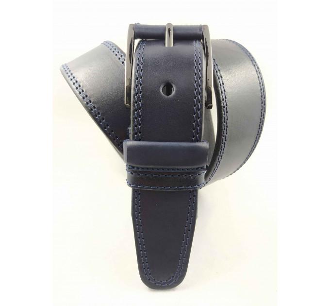 Мужской ремень джинсовый OSCAR С40-068 синий